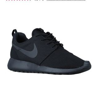 All black roshes with Tiffany blue accent color